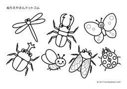 カテゴリ昆虫の塗り絵 ぬりえやさんドットコム